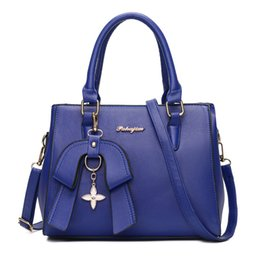 Wholesale Handbags Colorful Patchwork - New Women Bag PU Leather Crossbody Bags Lady Shoulder Bag Original Design Handbags Colorful Evening Bags Tote