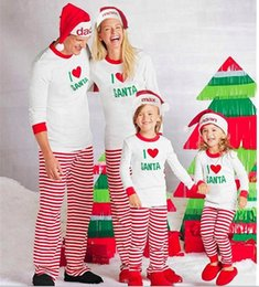 Discount matching family christmas pajamas - Christmas Family Matching  Clothing Sets Pajamas Clothing Mother Daughter Father e5b39bf86