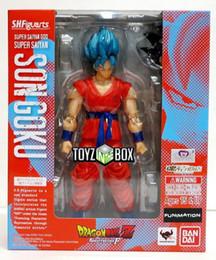"Canada S.H. Figuarts SSGSS ""Figurine Action"" Dragon Super Z Saiyan God Goku Dragonball Z Offre"