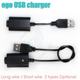 Wholesale Ego C Mini Battery - ecig ego usb charger black long short 2 types for ego ego t ego c evod vision spinner 2 mini tesla ESAM-T Battery USB charger
