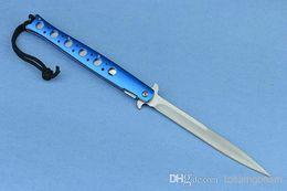 2019 cuchillos al por mayor de chris reeve Nuevo Walther Swordfish acero inoxidable al aire libre cuchillo de bolsillo EDC cuchillos de caza de supervivencia cuchillo de caza