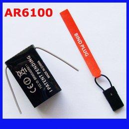 Wholesale Dx8 Rc - Spektrum AR6100 2.4G 6ch RC Receiver , Support DSX7 DSX9 DSX11 DSX12 DX6i DX7 DX8