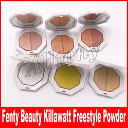 Wholesale Beauty Trophy - Fenty Beauty By Rihanna Killawatt Freestyle Highlighter Palette 6 Colors TROPHY WIFE Metal Moon LIGHTNING DUST FIRE CRYSTAL DHL