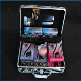 Wholesale Extension Eyelash Kit Pro - Wholesale-2015 HOT selling Pro False Eye Lash Eyelash Extension Full Kit Tools Glue Set With Case free shipping