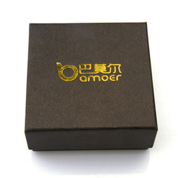 Wholesale Gift Boxes Buy - Wholesale-Bamoer only sell after buying jewelry in shop earrings ring watch gift box jewelry box little necklace box 7.3*7.3*3.5CM