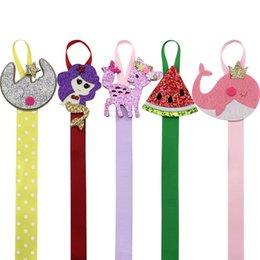 Wholesale Headband Storage - 5pcs  Lot Lovely Hairbow Holder Girls Hair Ribbons Accessories Hair Bow Hanger Hair Clip Storage Boutique Supplies