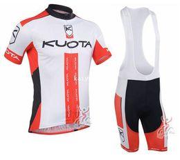 2019 camiseta ciclista orbea rojo 2013 kuota Team Ciclismo Jersey / Ropa de ciclismo / Ropa de ciclismo y pantalones cortos babero suite-kuota-1A Envío gratis