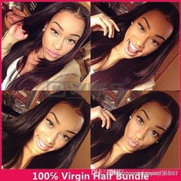 Wholesale Goddess Remy Hair - best weave 3bundle goddess remy human hair unprocessed virgin hair bundle deals peruvian straight virgin hair puruvian hair 3,4,5pcs lot