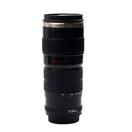 Wholesale Camera Drink - 3rd G 70-200 Creative Coffee water camera ZOOM lens mug cup jug bottle Caniam logo simulation keep warm gift free ship 016-039C