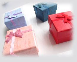 Wholesale Trinkets Earrings - Ring Earrings Casket Bracelet Trinket Jewelry Boxes Lover Gift Wedding Favor Bag