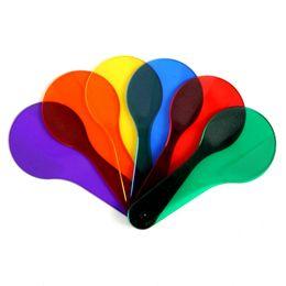 6 шт. детские весело Монтессори образовательных Живопись Рисунок соответствия цветов познания пластиковые Beat Board детские игрушки для детей подарки от Поставщики совпадение краски