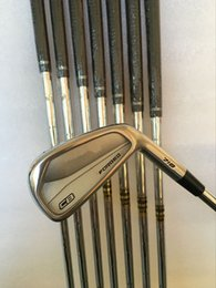 Wholesale dynamic gold shafts set - Golf Clubs CB Forged 718 Irons set 3-9#P With Dynamic Gold Steel S300 Shaft 8PCS CB 718 Golf Irons Right hand