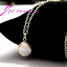 Wholesale Freshwater Pearl Necklace Designs - Wholesale-2015 breeding freshwater pearl baroque shapes statement necklace women sell like hot cakes product design wholesale channel