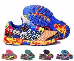 Wholesale Cool Shoes Women - New Brand Asics Gel-Noosa TRI 8 VIII Running Shoes For Women, Fashion Bright Cool Marathon Race Stable Lightweight Sneakers Eur Size 36-40