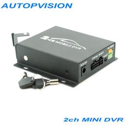 Wholesale Video Audio Recorder Cctv - 2CH Car Security Mini DVR SD Video Audio CCTV Recorder Mini DVR