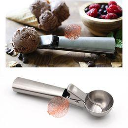 Cuchara de acero inoxidable para el helado - Cuchara fácil, helado, yogur congelado, masa para galletas, albóndigas, platos de arroz, purés de verduras desde fabricantes