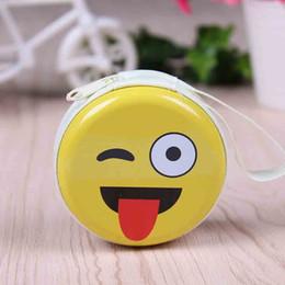 Wholesale Novelty Key Cases - Wholesale- YIYOHI 2017 New Fashion Unisex Cartoon Coin Purse Novelty Emoji Girls And Boys Key Case Wallet Children Earphone Bag Coin Packet
