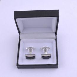 Scatola regalo dei gemelli online-Contenitori di gioielli di plastica del contenitore di gemello di nero del grado superiore nero del gemello Migliore contenitore di regalo per i gemelli Vendita calda