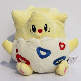 """Wholesale Togepi Plush Toy - Poke plush Togepi Plush Toy Stuffed Doll With Tag 8"""" 18cm Gift For Children Free Shipping"""