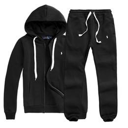 Wholesale Quality Panel - Free shipping SALE HOT Best Quality Real Jacket Kits Tracksuit 2018 NEW Football Sets Men Zipper jackets sportswea set tracksuit