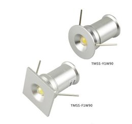 Wholesale Miniature Light Lamps - 1 watt mini LED small Spot Light 15 mm hole miniature bovine lights 3VDC Gypsophila paniculata 1W ceiling light LED Small Spot Lamp