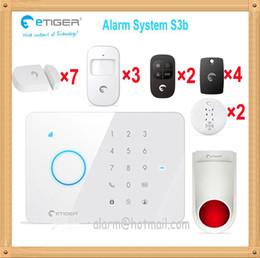Wholesale Door Guard Alarm - Mobile phone app control intelligent home guard theft intruder alarming flash drive away security system 110db