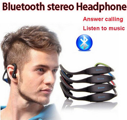 Wholesale Sports Bluetooth Speaker - Bluetooth headset Sports S9 Headset Bluetooth Speaker Wireless Neckband In Ear Earphone skyl Hifi Music Player For iPhone6 S6 DHL Free