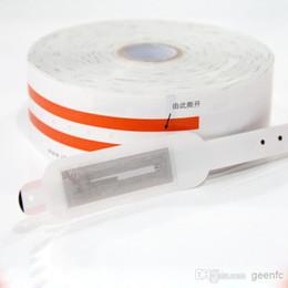 Argentina Rodillo de embalaje pulsera rfid pulsera anti-bacterias identificación médica 13.56 mhz Suministro