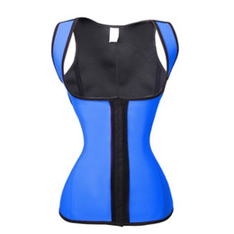 Wholesale Latex Bodysuit Women - 2017 Weight Loss Steampunk Underbust Corset Waist Trainer Latex Bodies Woman Sexy Shaper Bodysuit Slimming Corrective Underwear