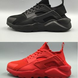 Wholesale Sport Winter Boots For Men - 2017 New Design Huarache 4 IV Running Shoes For Women & Men, Lightweight Huaraches Sneakers Athletic Sport Outdoor Huarache 5 Shoes36-46