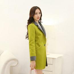 Wholesale Pre Coat - Pre Hitz Korean version of Slim thin woolen coat autumn large size women woolen coat T