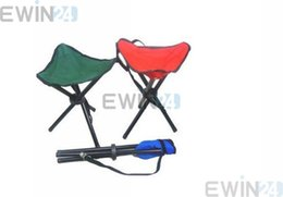 Wholesale Good Chairs - new and good quality Outdoor Camping Hiking 3 Legs Folding Chair Picnic Fishing Triangle Tripod Seat Stool