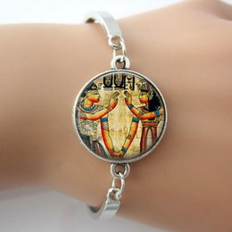 Wholesale Egyptian Rings - Ancient Egyptian Bracelet,Glass Picture & Photo Charm Bangle,Handcrafted Jewelry For Best Friends 2015 New Indian