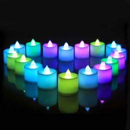 Wholesale Magic Candle Led - Magic LED Smokeless Candles Eco Friendly Romantic Party Decoration Candles Reusable Wedding Favors for Sale SD952
