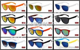 Wholesale Wholesale Personalized Sunglasses - New Frog Skins Vintage Personalized Colorful Mirror Sport Outdoor Glasses Eyewear Goggles Man or Women Brand Riding Sunglasses