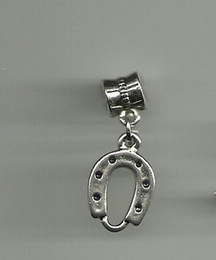 Wholesale Wholesale Horse Shoe Jewelry - Free Shipping Wholesale Fashion Vintage Silver Horse Shoe Charms Pendants DIY Jewelry Findings 100PCS N1042
