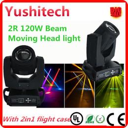 movimiento agudo Rebajas 2pcs / lot Sharpy 120w 2R haz de luz principal móvil con paquete de caja de vuelo dhl o fedex ENVÍO GRATIS