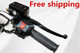 Wholesale Brake Pump Front - GN250 front brake pump super large thrust configuration with 13.9MM piston diameter for Suzuki modified motorcycle accessories
