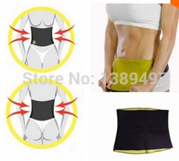 Wholesale Tummy Waist Shapers - Free shipping New Arrivals Body weight loss waist cincher body trainer tummy trimmer neoprene slimming Belt ceinture minceur hot shapers tv