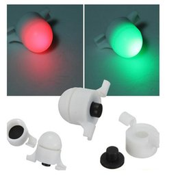 Wholesale Red Sea Lighting - Fishing Alarm Strike Alert Night Light Sea Coarse 100 Yards Intelligent Electronic Flash Green Ready Red Fish on For 1-5mm Rod Aces Outdoors