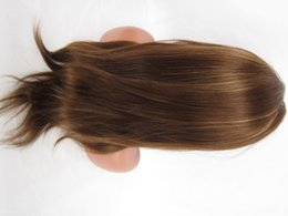 "Wholesale Cheap Cosplay - Cheap Remy Full Lace Wigs #4 27 14"" - 20"" India Human Hair Silky Straight IN STOCK READY TO SHIP"