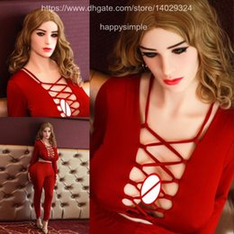 Wholesale 152cm Doll - Support Customize 152cm European and American Style Solid Full Silicone TPE Sex Dolls For Men Non-inflatable Doll Adult Sex Products