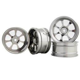 Wholesale Hpi Drift Wheels - RC Aluminum Wheel 4pc D:52mm W:26mm Fit HSP HPI 1:10 On-Road Drift Car Rim 107T