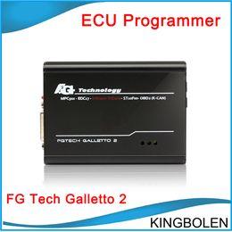 Wholesale Tech Auto Tool - 2017 Super Auto ECU chip tunning tool FGTech Galletto 2 Master EOBD2 V52 Multi-language fg tech Galletto2 master free shipping