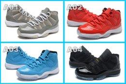Wholesale Art Legend - Retro 11 Concords Red Baketball Shoes OG for Men Sports Shoes Running Shoe Legend Gamma Blue Basketball Shoe