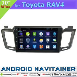 Wholesale Toyota Rav4 Dvd Player Gps - Quad Core Double Din Car Radio GPS Multimedia Navigation System for Toyota RAV4 2013 with TV 3G wifi BT RDS Car Dvd