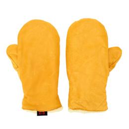 Wholesale Mitten Holders - Winter Thermal Heat Gloves Cotton Kitchen Heat Resistant Microwave Oven Pot Holder Baking BBQ Cooking Gloves XL