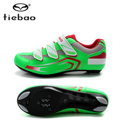 Wholesale Tiebao Road - Wholesale-TIEBAO Professional Outdoor riding equipment Climbing Hiking Athletic Cycling Shoes road Sports Ciclismo Shoe