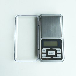 Wholesale Electronic Digital Jewelry Balance - Free Shipping NEW 1pcs Mini 0.01 x 200g Electronic Balance Gram Digital Pocket Scale Balanza Digital Scales Jewelry Hot Selling T0015