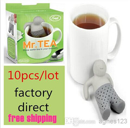 Wholesale Tea Box Sale - Free Shipping   factory direct  10 pcs   Mr Tea Infuser Mr.Tea Infuser   Mr Tea Strainers (OPP package) 7 colors to choose top sale